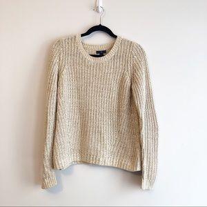 Gap Beige Chunky Knit Sweater